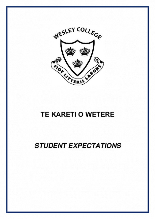 Student Expectations 2021 1